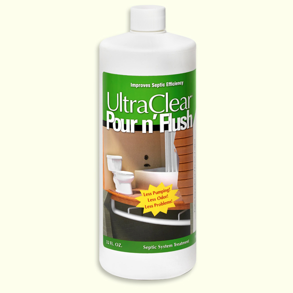 UltraClear Pour n' Flush Septic Treatment
